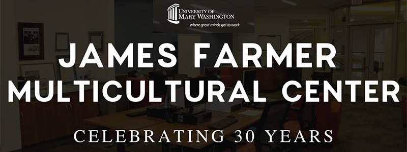 James Farmer Multicultural Center Banner