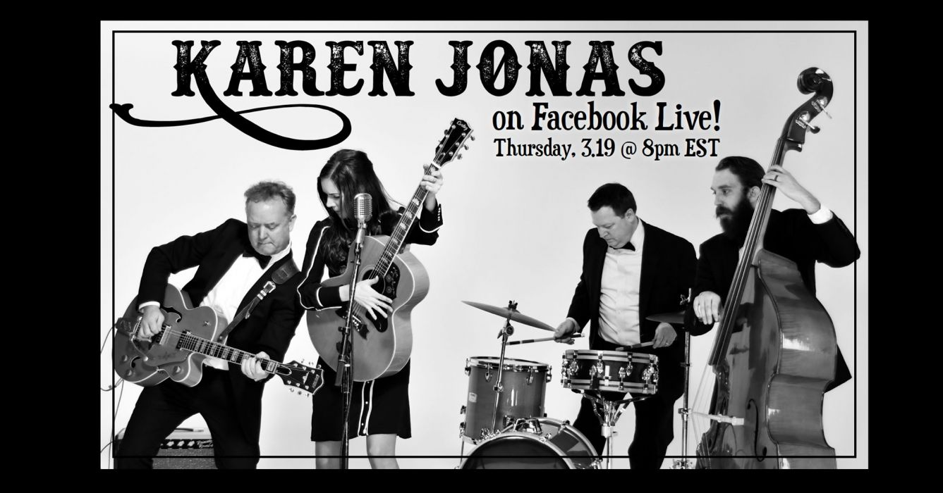 Karen Jonas on Facebook Live